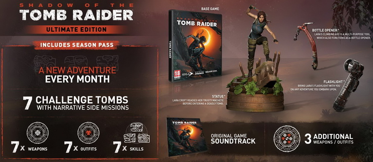 shadow tomb raider ultimate edition