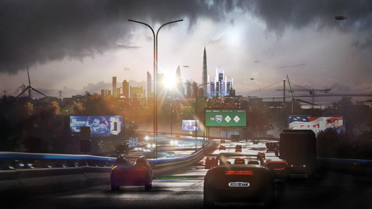 Detroit, 2038.