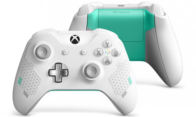 xbox one controller sport white special edition
