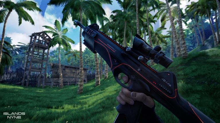 Το παιχνίδι περιλαμβάνει όπλα σημερινής εποχής με εντυπωσιακές χρωματικές πινελιές.