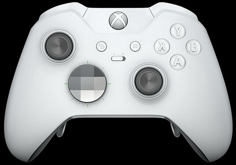 white xbox one elite controller_1