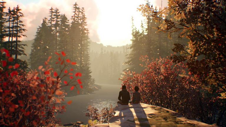 Μόνοι στο δάσος.