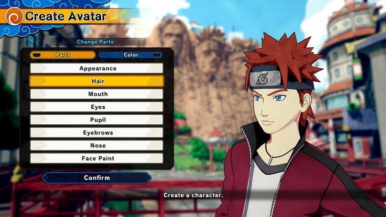 Το όνειρο έγινε πραγματικότητα: δημιουργία χαρακτήρα σε παιχνίδι Naruto!