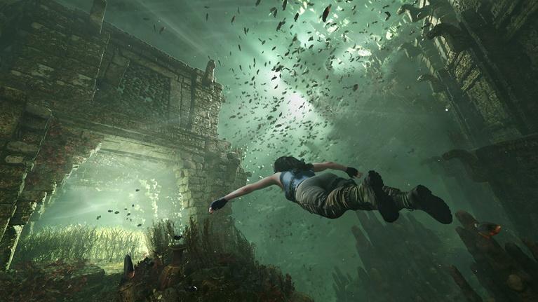 Τα πιράνχας επιστρέφουν από τα παλιά Tomb Raider. Δεν μας έλειψαν καθόλουν.