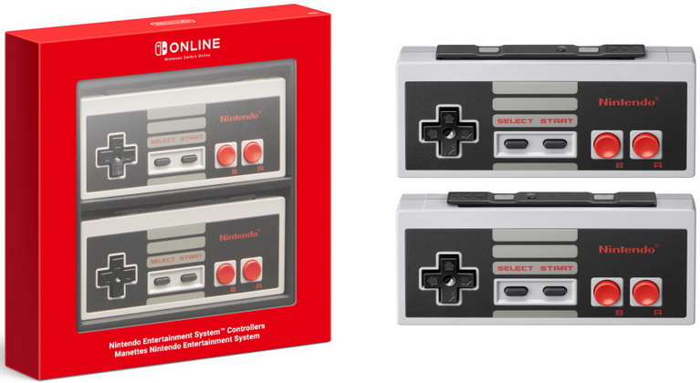 switch nes controllers