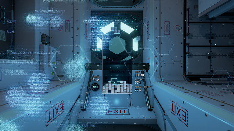 Η πίστα με θέμα το διάστημα μάλλον είναι ένας φόρος τιμής στη σοβιετική διαστημική εποχή από όπου προέρχεται το Tetris.