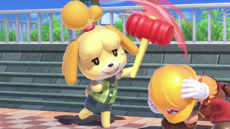 Τόσο γλυκιά η Isabelle, τόσο γλυκά τους σπάει στο ξύλο...