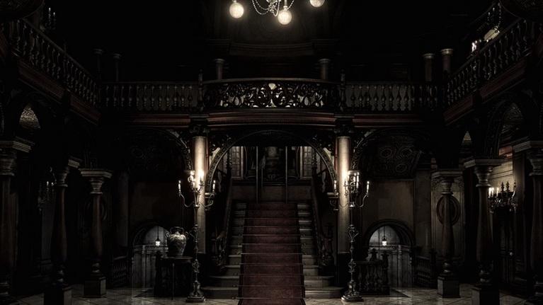 Η γνώριμη έπαυλη του Resident Evil, όπου ξεκίνησαν όλα.