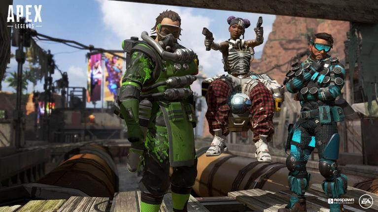 Τρεις από τους ξεχωριστούς ήρωες του παιχνιδιού.