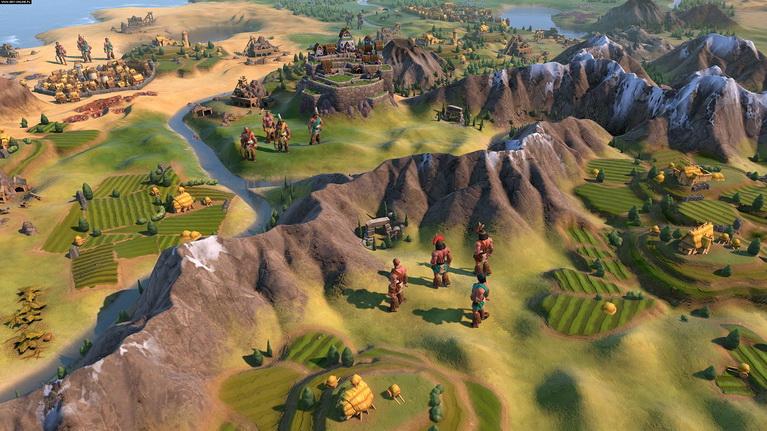 Οι Ίνκας μπορούν να διασχίσουν βουνά από την αρχή του παιχνιδιού.
