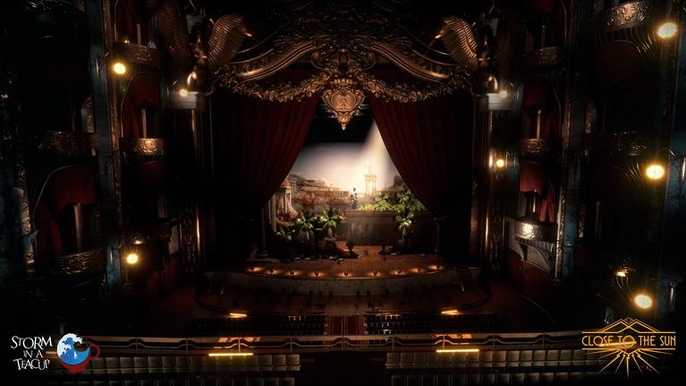 Το επιβλητικό θέατρο του Helios.